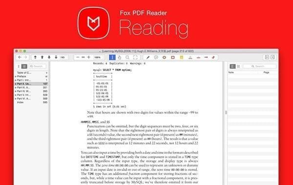 Fox PDF Reader